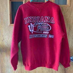 2002 NCAA Final4 IU, Indiana University Crewneck